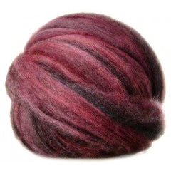 Potluck Roving 8oz Ball Midnight Mulberry PL - 15