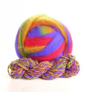 Potluck Roving 8oz Ball Party Time PL - 10
