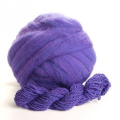 Potluck Roving 8oz Ball Purple Haze PL - 8