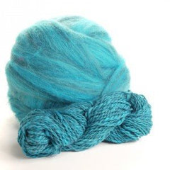 Potluck Roving 8oz Ball Stormy Sea PL - 7