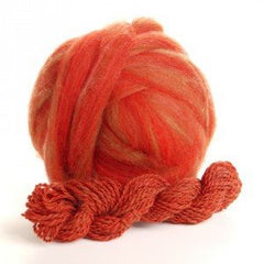Potluck Roving 8oz Ball Vine Maple PL - 6