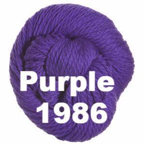 Cascade 128 Superwash Yarn Purple 1986 - 22