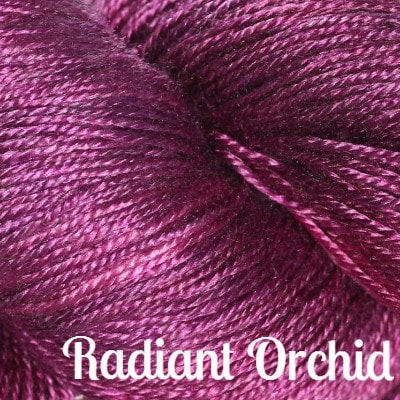 Hand Maiden Fine Yarns - Sea Silk Radiant Orchid - 5