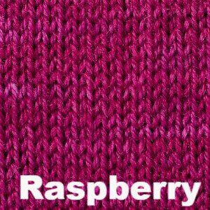 Sweet Georgia Tough Love Sock - Semi Solids-Yarn-Raspberry-