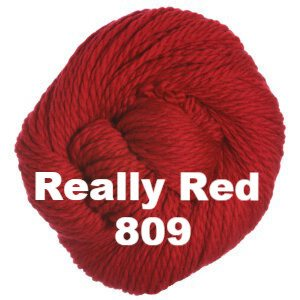 Cascade 128 Superwash Yarn Really Red 809 - 5