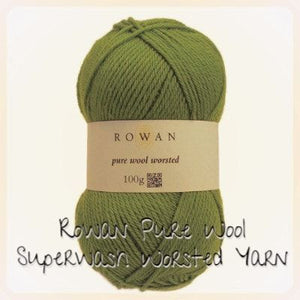 Rowan Pure Wool Superwash Worsted Yarn-Yarn-Almond 103-