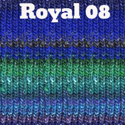 Paradise Fibers Yarn Noro Silk Garden Yarn Royal 08 - 1