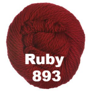 Cascade 128 Superwash Yarn Ruby 893 - 4