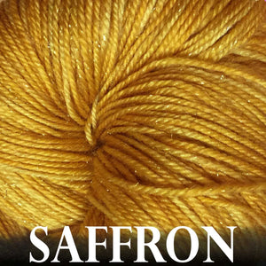 Paradise Fibers Yarn Anzula Luxury Nebula Yarn Saffron - 14