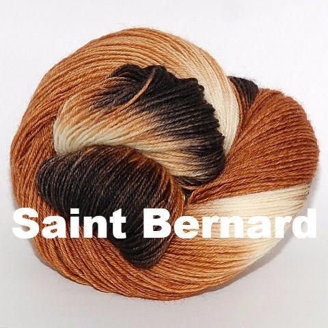 Paradise Fibers Yarn Ancient Arts DK Yarn - Woof Collection Saint Bernard - 13