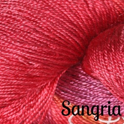 Hand Maiden Fine Yarns - Sea Silk Sangria - 6