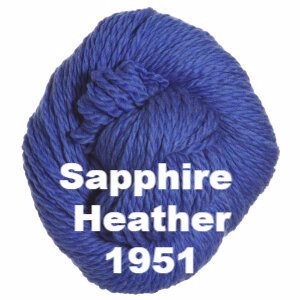 Cascade 128 Superwash Yarn Sapphire Heather 1951 - 55