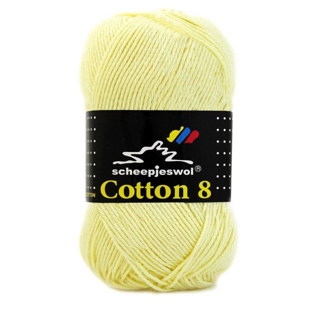 Scheepjes Cotton 8 Scheepjes Cotton 8 - Butter Yellow 508 - 7