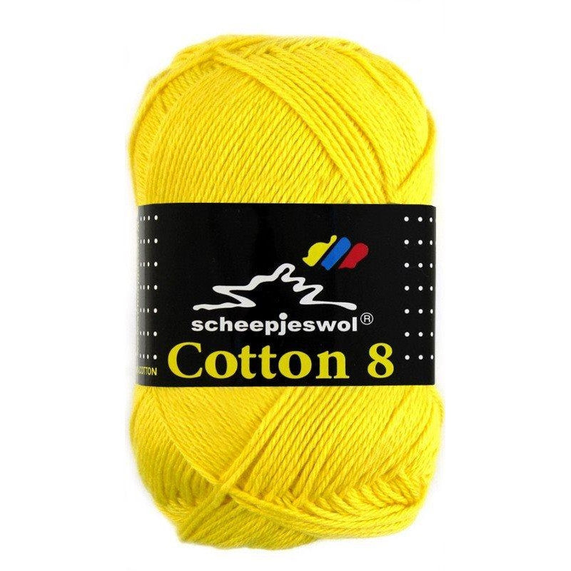 Scheepjes Cotton 8 Scheepjes Cotton 8 - Yellow 551 - 19
