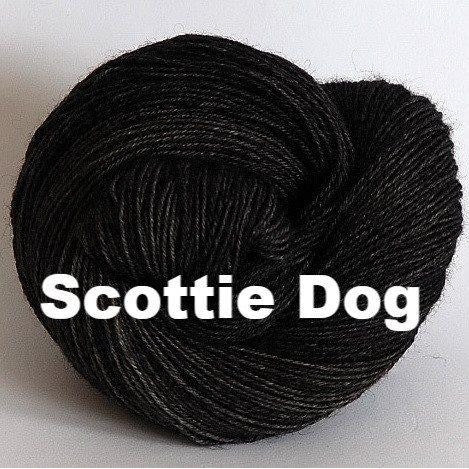 Paradise Fibers Yarn Ancient Arts DK Yarn - Woof Collection Scottie Dog - 14
