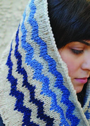Elsebeth Lavold Sierra Mountain Cowl Pattern-Patterns-