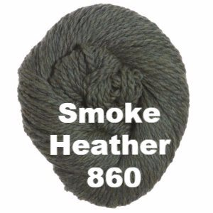 Cascade 128 Superwash Yarn Smoke Heather 860 - 13