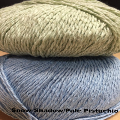 Heidi Kirrmaier After the Rain Pullover Kit XS/S1/S2/M1/M2 / Snow Shadow/Pale Pistachio - 4