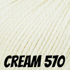 Rowan Softknit Cotton Yarn Cream 570 - 1