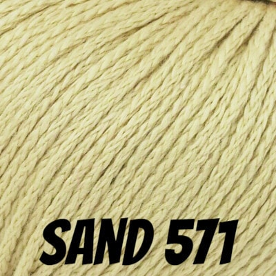 Rowan Softknit Cotton Yarn Sand 571 - 2