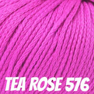 Rowan Softknit Cotton Yarn Tea Rose 576 - 5