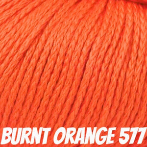 Rowan Softknit Cotton Yarn-Yarn-Burnt Orange 577-