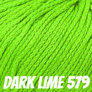 Rowan Softknit Cotton Yarn-Yarn-Dark Lime 579-