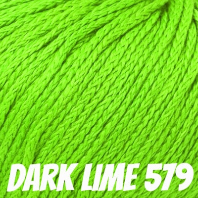 Rowan Softknit Cotton Yarn Dark Lime 579 - 8