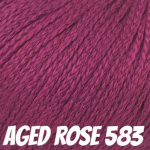 Rowan Softknit Cotton Yarn-Yarn-Aged Rose 583-