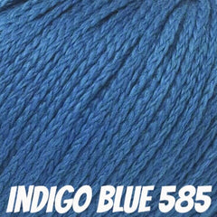 Rowan Softknit Cotton Yarn Indigo Blue 585 - 14