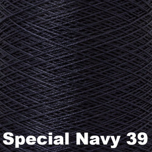 10/2 Perle Cotton 1lb Cones-Weaving Cones-Special Navy 39-