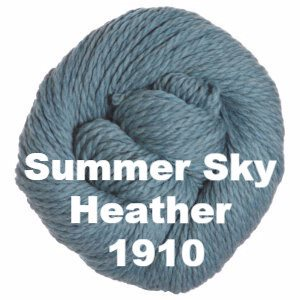 Cascade 128 Superwash Yarn Summer Sky Heather 1910 - 48