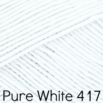 Rowan Summerlite 4 ply Yarn Pure White 417 - 1