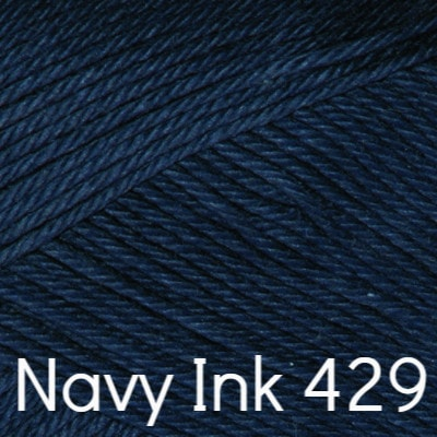 Rowan Summerlite 4 ply Yarn Navy Ink 429 - 10
