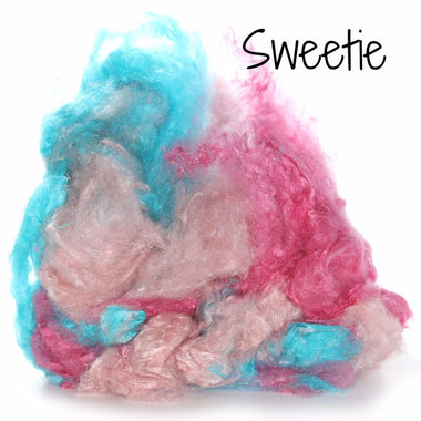 Camaj Hand Dyed Mulberry Silk Cloud- Soffsilk® Sweetie / 1oz - 1