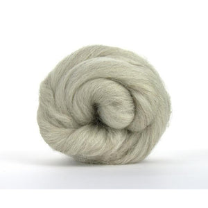Paradise Fibers Light Grey Swaledale Top-Fiber-Paradise Fibers