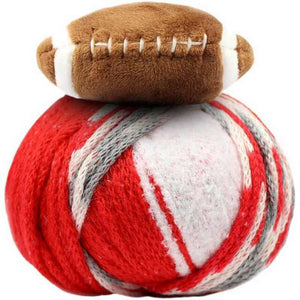Top This! Hat Kit-Kits-Football - Red & White-