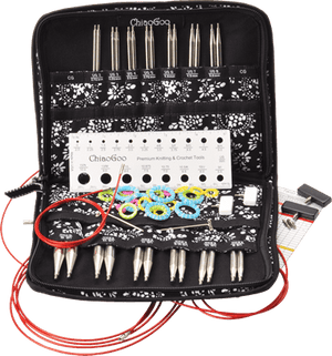 "TWIST 5"" Interchangeable Needle Sets by ChiaoGoo-Interchangeable Needle Set-Complete-"