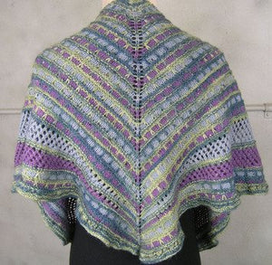 Taking Flight Shawlette Kit-Kits-Amethyst 4697-