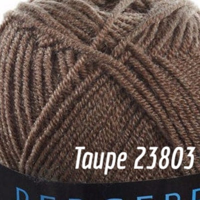 Bergere de France Annecy Yarn Taupe 23803 - 3