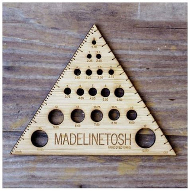 MadelineTosh Triangle Needle Gauge