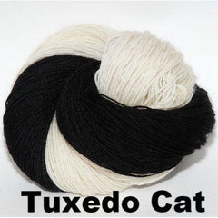 Paradise Fibers Yarn Ancient Arts DK Yarn - Meow Collection Tuxedo Cat - 21