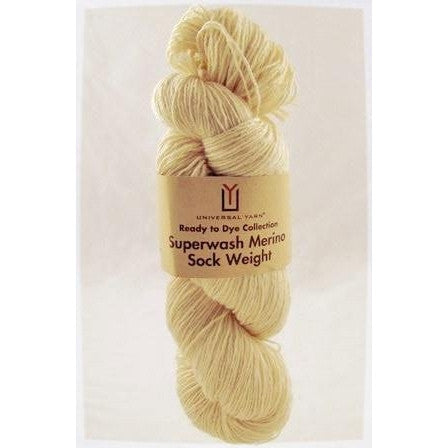 Universal Yarn - Ready to Dye Superwash Merino Sock Yarn