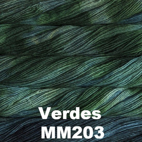 Malabrigo Worsted Yarn Variegated Verdes MM203 - 11