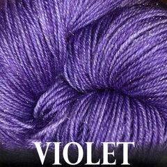 Paradise Fibers Yarn Anzula Luxury Nebula Yarn Violet - 20