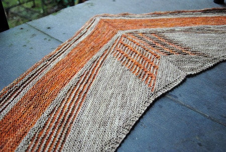 Vulpix Shawl Pattern by West Knits  - 2
