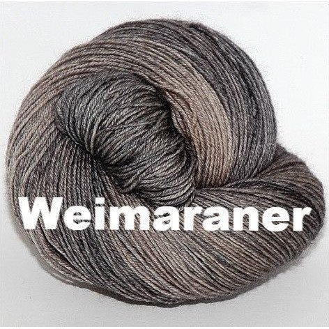 Paradise Fibers Yarn Ancient Arts DK Yarn - Woof Collection Weimaraner - 15