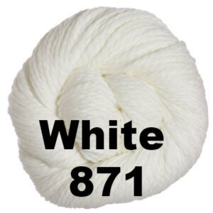 Cascade 128 Superwash Yarn White 871 - 10