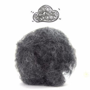 Five Days of Grey - Carded Corrie Fiber Bundle-Kits-1 oz each-