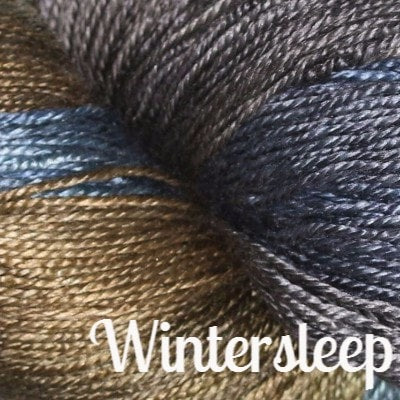 Hand Maiden Fine Yarns - Sea Silk Wintersleep - 9